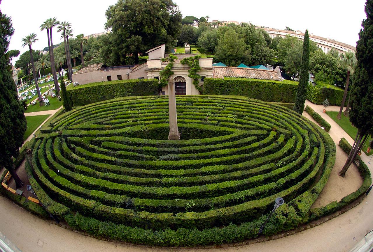 Galleria fotografica dei giardini del palazzo del quirinale for Giardini immagini