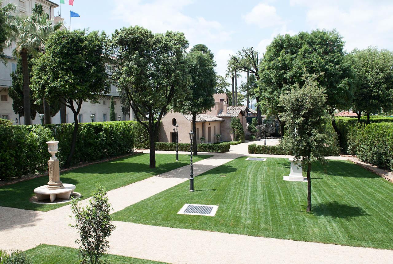 Galleria fotografica dei giardini del palazzo del quirinale - I giardini di palazzo rucellai ...